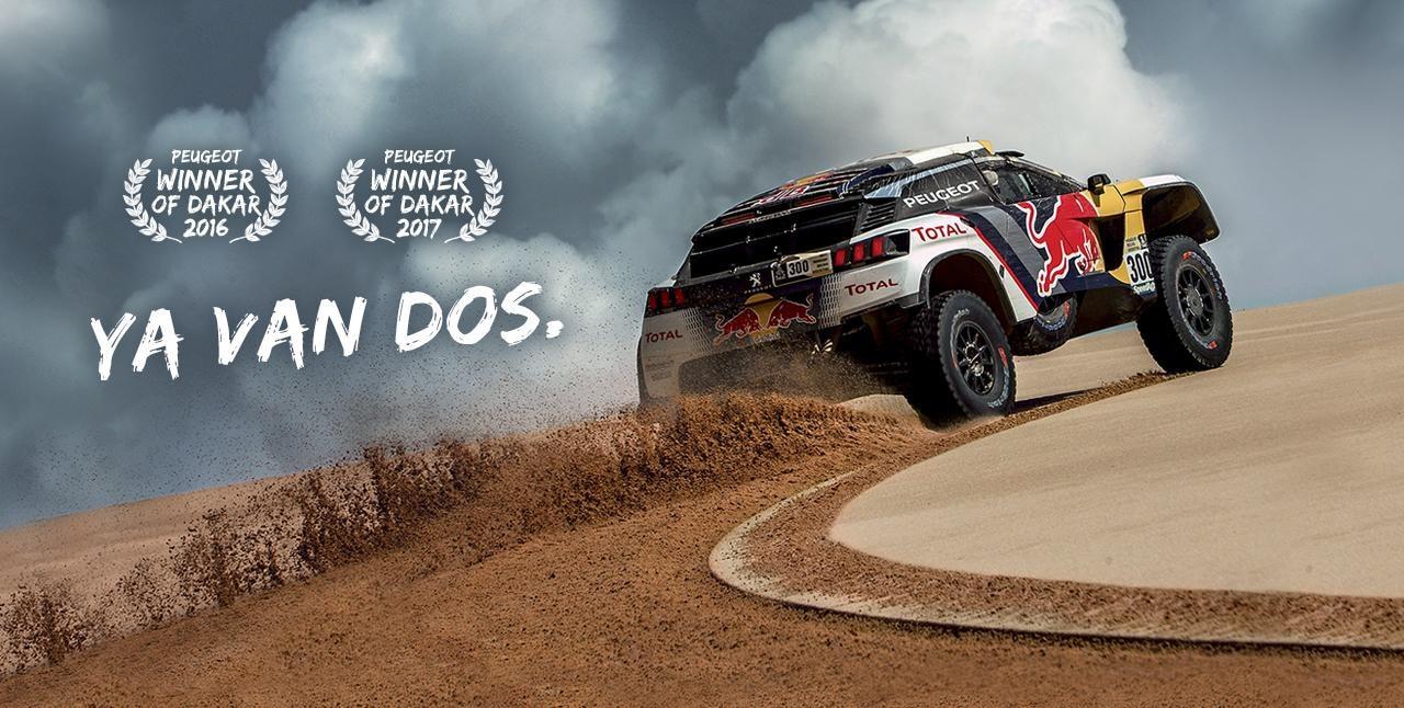 Winner Dakar Peugeot