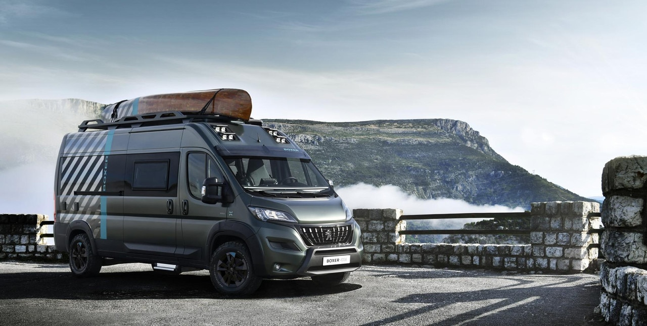 PEUGEOT BOXER 4x4 CONCEPT :el vehículo recreativo perfecto para todo tipo de aventuras.