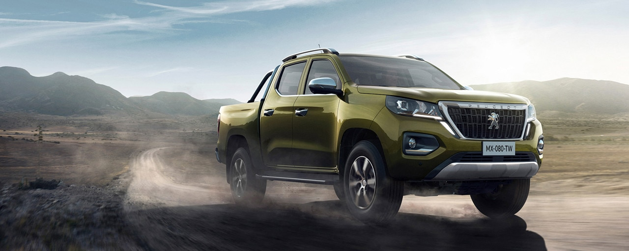 Nuevo pick-up PEUGEOT LANDTREK Multipurpose cabina doble 4x4