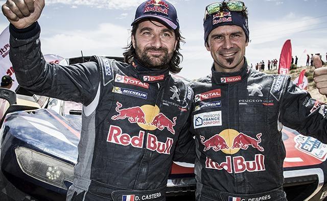 Aventureros Dakar 2017 – Despres y Castera, 3ª posición de la clasificación