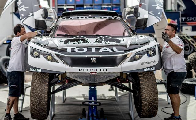 Aventureros Dakar 2017 – El Team Peugeot Total afronta el reto