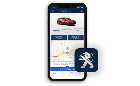 PEUGEOT 308 GTi – Aplicación MyPeugeot