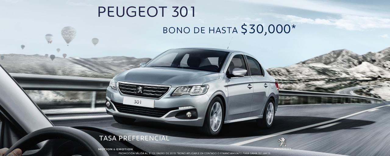 Peugeot 301 enero 2019