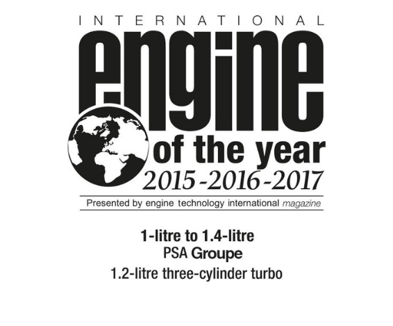 Motorización Puretech Engine of the Year