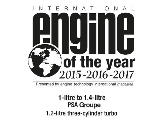 Motorización Puretech Engine of the Year