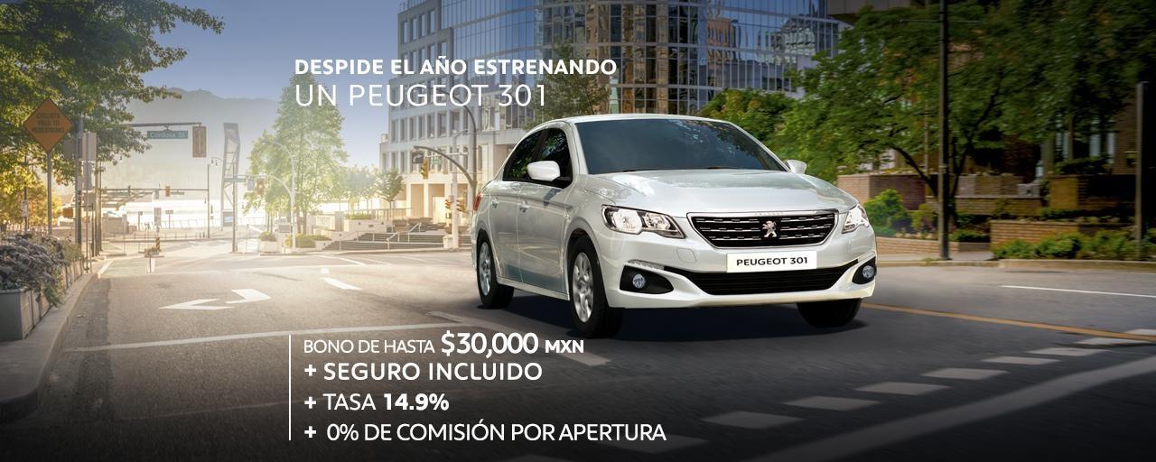 Oferta-Peugeot-301-diciembre