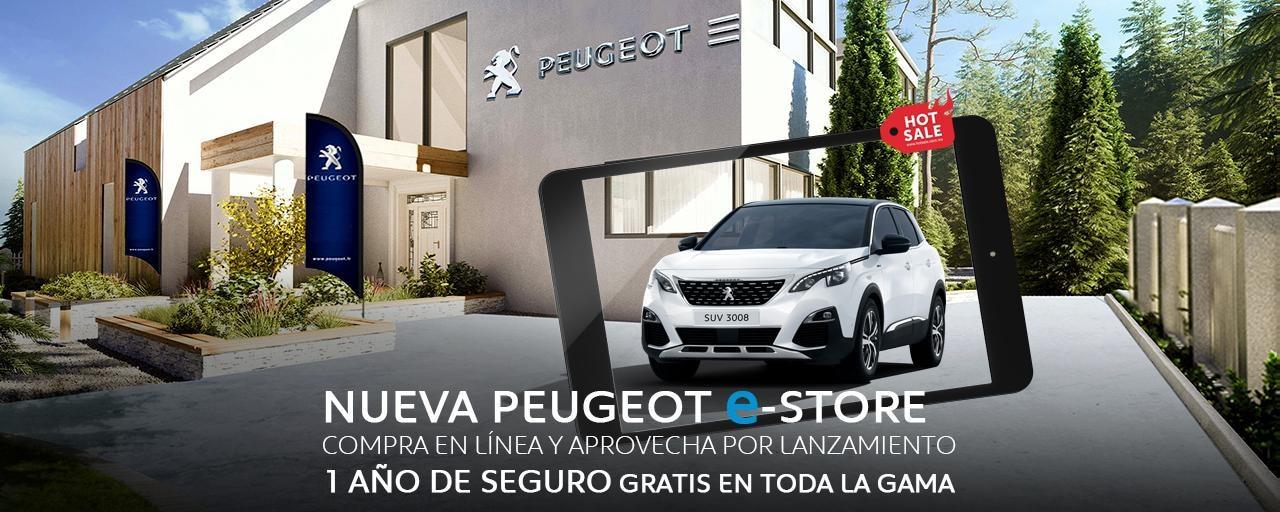 Nueva Peugeot e-Store Hot Sale 2020