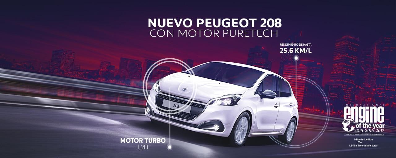 Nuevo Peugeot 208 Puretech