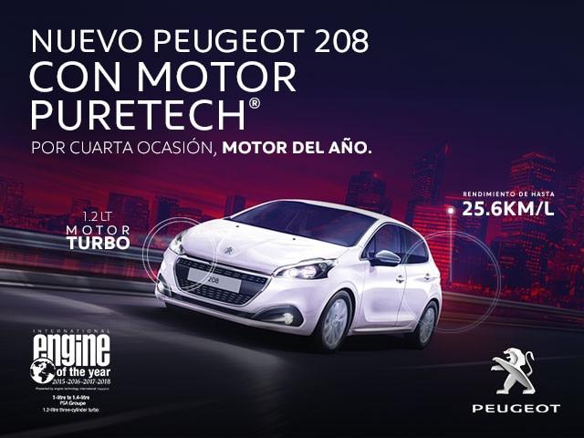 Nuevo Peugeot 208 con motor Puretech