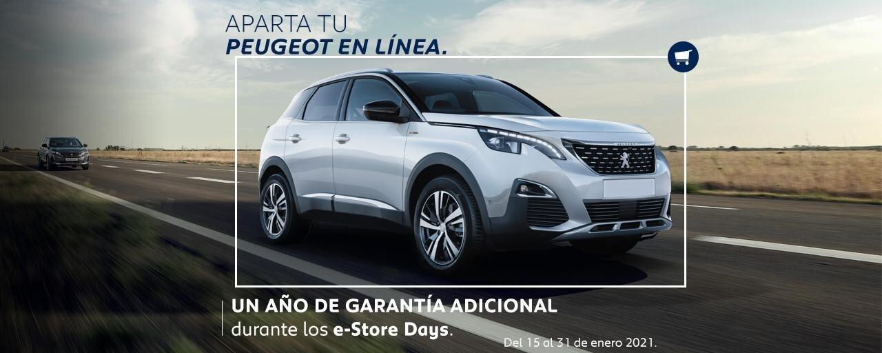 Peugeot e-store enero 2020