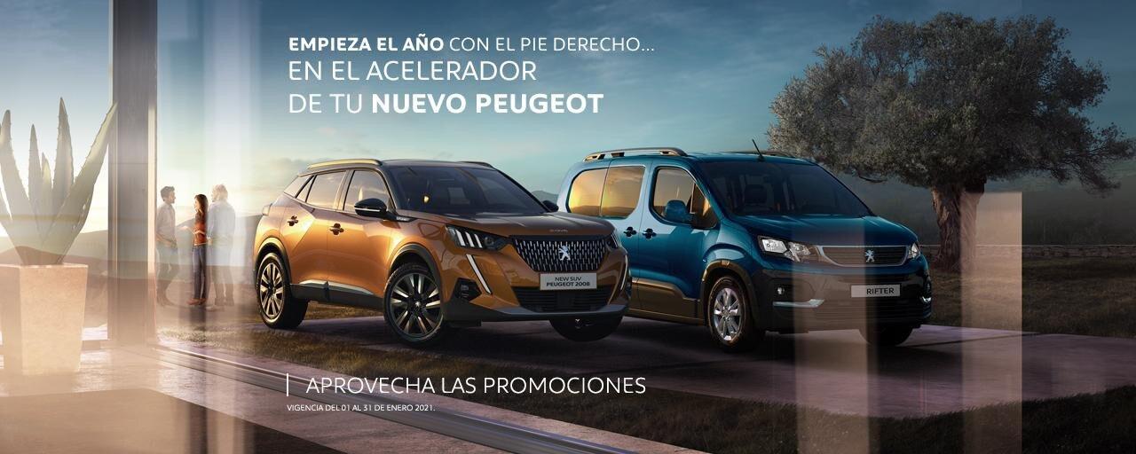 Peugeot promociones diciembre 2020