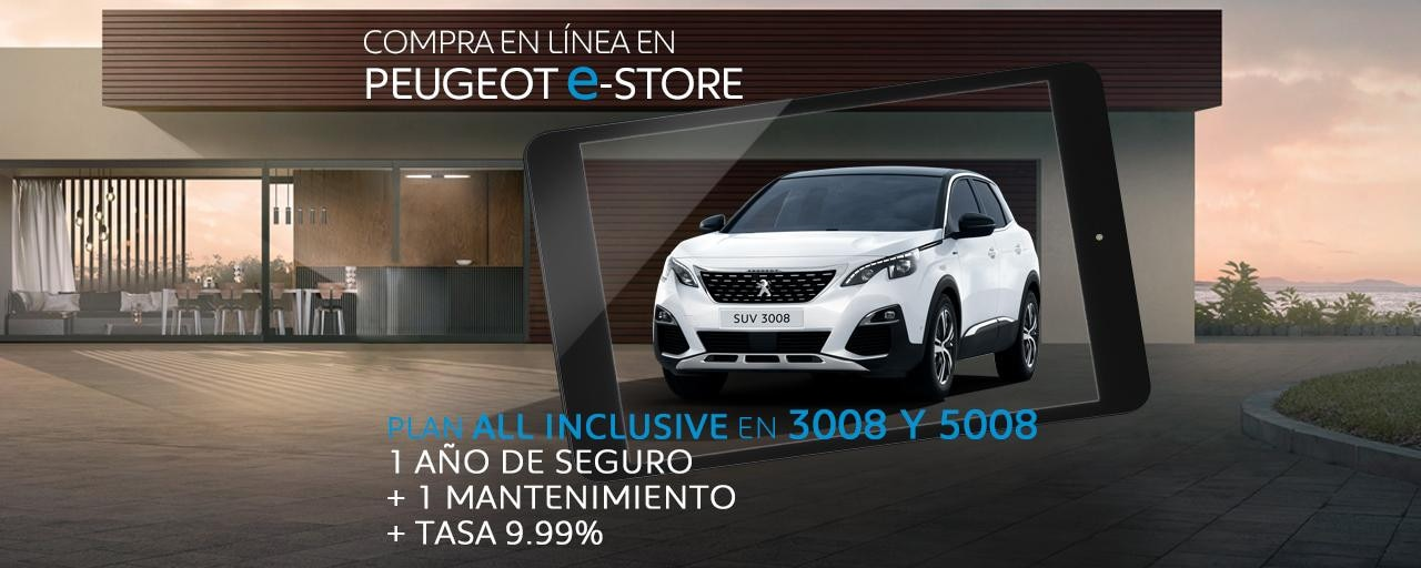 All Inclusive julio Peugeot 3008 y 5008