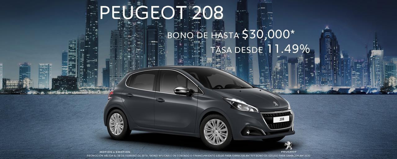 Peugeot_208_promocion_febrero_2019