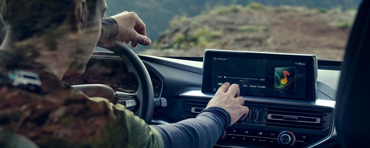 Nuevo pick-up PEUGEOT LANDTREK pantalla táctil de 10 pulgadas